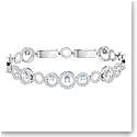 Swarovski Creativity Crystal and Rhodium Bracelet, Medium