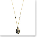 Swarovski March Owl Multi Colored and Gold Necklace