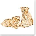 Swarovski Crystal, SCS 2019 Amur Leopard Cubs