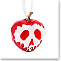 Swarovski Crystal Disney Snow White Collection Poisoned Apple Ornament
