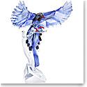 Swarovski Crystal Paradise Taiwan Blue Magpie
