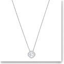 Swarovski Lattitude Crystal and Rhodium Pendant Necklace