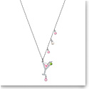 Swarovski Jewelry, No Regrets Pendant Cocktail Multi Colored Rhodium Silver