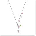 Swarovski Jewelry, No Regrets Pendant Cocktail Multi Colored Rhodium Silver