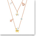 Swarovski Jewelry, Ocean Necklace Double Multi Colored Mix