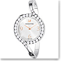 Swarovski Lovely Bangle Watch Metal Bracelet White Silver