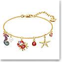 Swarovski Jewelry, Ocean Bracelet Multi Colored Gold Medium