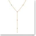 Swarovski Jewelry, No Regrets Necklace Y Multi Colored Gold