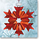 Swarovski Crystal, 2018 Annual Edition Christmas Ornament Red