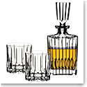 Riedel Neat Spirits Tumbler Pair and Decanter Set
