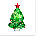 Swarovski Joyful Figurines Christmas Tree Green