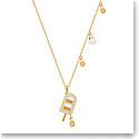 Swarovski Jewelry, No Regrets Pendant Ice Cream Multi Colored Gold