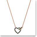 Swarovski Jewelry, Lovely Necklace Crystal Sini Rose Gold