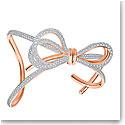 Swarovski Jewelry, Lifelong Bow Cuff Crystal Mix Small