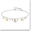 Swarovski Jewelry, Ocean Necklace Choker Multi Colored Mix
