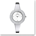 Swarovski Crystal Rose Watch, Metal Bracelet, Silver, Stainless steel