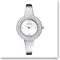 Swarovski Crystal Rose Watch, Metal Bracelet, Silver, Stainless steel