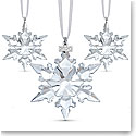 Swarovski 2020 Ornaments Christmas Set