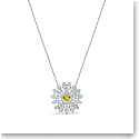 Swarovski Necklace Eternal Flower Pendant Dc Crystal Rhodium Silver