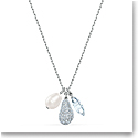 Swarovski Necklace So Cool Necklace Heart Crystal Rhodium Silver