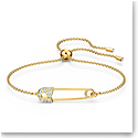 Swarovski Bracelet So Cool Safetypin Gold M