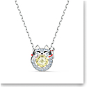 Swarovski Necklace Sparkling Dance Necklace Cat Cecy Crystal Rhodium Silver