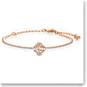 Swarovski Bracelet Sparkling Dance Bangle Crystal Rose Gold M