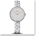 Swarovski Womens Watch Pave Cosmopolitan Stainless Steel Shiny Silver