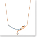 Swarovski Necklace Lifelong Heart Necklace Barre Crystal Mix