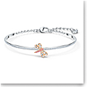 Swarovski Bracelet Eternal Flower Dragonfly Light Multi Rose Gold M