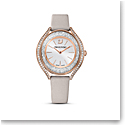 Swarovski Women's Watch Crystalline Aura Gray White Pro