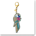 Swarovski Small Accessories Tropical Bag Charm Multi Gold