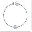 Swarovski Bracelet Remix Strand Dragonfly Crystal Rhodium Silver M
