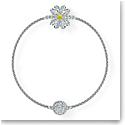 Swarovski Bracelet Remix Strand Flower Crystal Rhodium Silver M