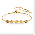 Swarovski Bracelet Shell Cowries Crystal Gold M