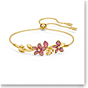 Swarovski Bracelet Tropical Bangle Light Multi Gold M