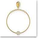 Swarovski Bracelet Remix Strand Shell Gold M