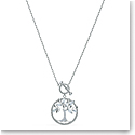 Swarovski Symbol Tree Crystal Rhodium Silver Necklace