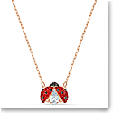 Swarovski Necklace Sparkling Dance Necklace Light Multi Gold