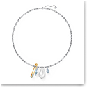 Swarovski Necklace So Cool Necklace Safetypin Long Crystal Mix