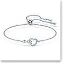 Swarovski Bracelet Infinity Simple Crystal Rhodium Silver M