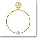 Swarovski Bracelet Remix Strand Ohm Light Multi Gold M