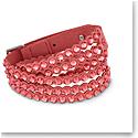 Swarovski Bracelet Swapower Pink Stainless Steel Shiny Slake M