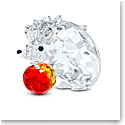 Swarovski Hedgehog With Apple