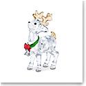 Swarovski Santas Reindeer