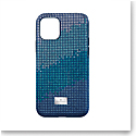 Swarovski Mobile Phone Case Crystalgram iPhone 11 Pro Case Blue Anniversary