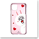 Swarovski Mobile Phone Case Line Friends iPhone 11 Pro Max Case Multi Cony
