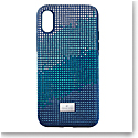 Swarovski Mobile Phone Case Crystalgram iPhone XS Max Case Blue Anniversar