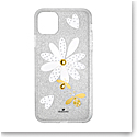 Swarovski Mobile Phone Case Eternal Flower iPhone 11 Pro Max Case Multi