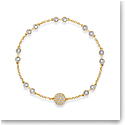 Swarovski Bracelet Remix Strand Simple Gold L
